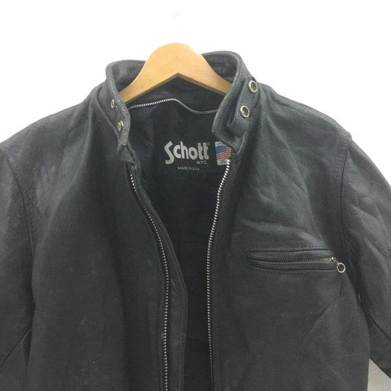 Vintage Schott Leather Coats Jackets & Vests for M
