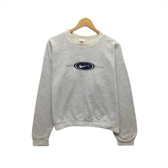 Vintage 90's Nike Sweatshirt Nike Swoosh Nike Crew