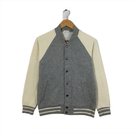 RARE!!! Vintage Varsity Jacket Plain Varsity Authe