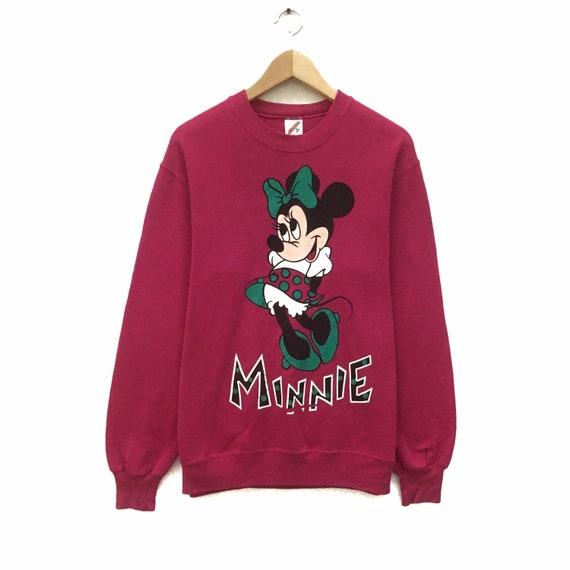 Fits SmallMedium Vintage 1990s Mickey and Minnie Mouse Sweatshirt Walt Disney Pullover
