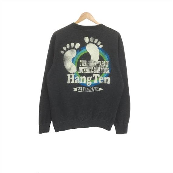 Rare!! Vintage Hang Ten Sweatshirt Crewneck Big Lo