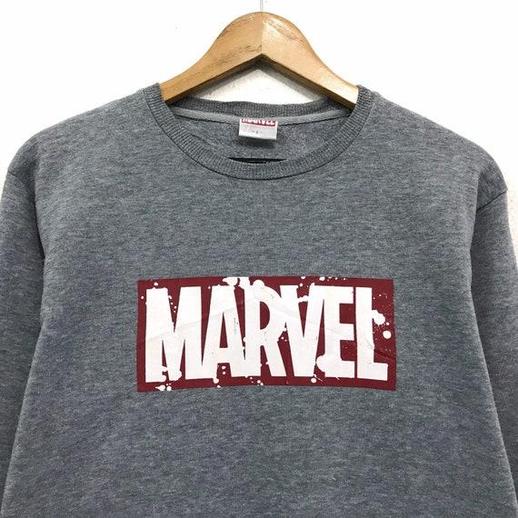 Rare! Vintage Marvel Crewneck Sweatshirt Biglogo S