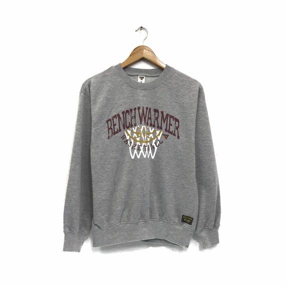 Rare!!! Vintage Benchwarmer Basketball Sweatshirt
