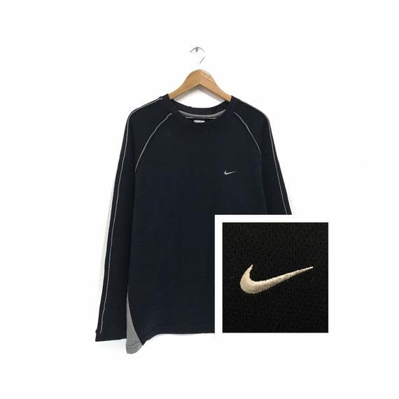 Vintage Nike Swoosh Sweatshirt Nike Embroidery Swo