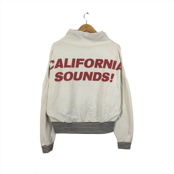 RARE!! California Sound Sweatshirt Biglogo Califor