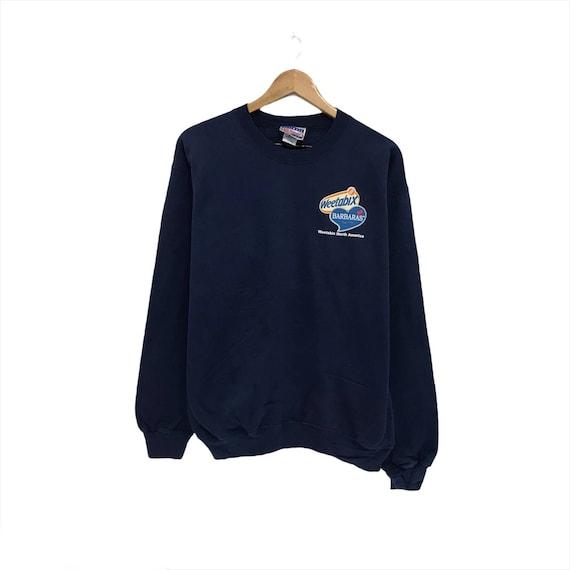 Vintage Hanes Sweatshirt Small Logo Crewneck Plain Sweaters Size M