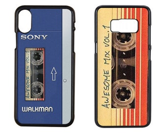 Awesome Mix vol 1 iPhone Case, Awesome Mix Phone Case, Guardians of the Galaxy Music Awesome mix Vol 1, Awesome Mix iPhone 7/7 Plus Case