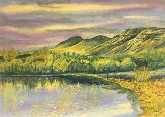Rannoch Moor Scotland Giclee Canvas Wall Art Picture