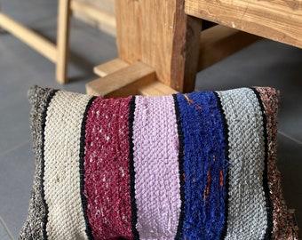 Medium size cushion 50x30cm, hand-woven lira
