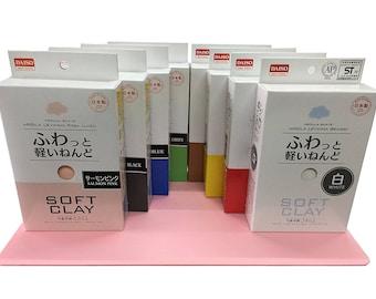 Made in Japan Daiso clay,DIY Cheap Daiso Soft Clay,Slime supply