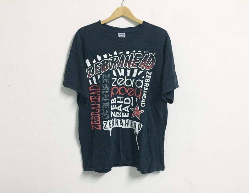 bde726e8 Rare Zebrahead Band shirt | Etsy