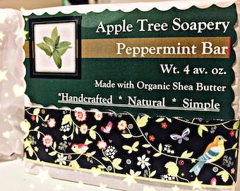 Peppermint Soap Bar