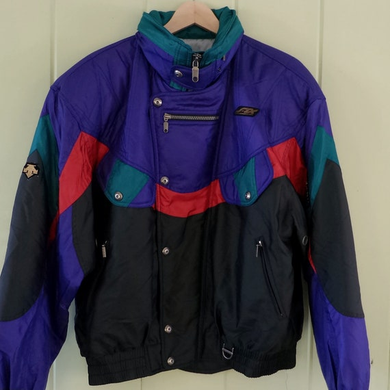 Taille Pour Xl Qewi88d Descente Années 80 Homme Des Vintage Ski Veste CxWQdreoB