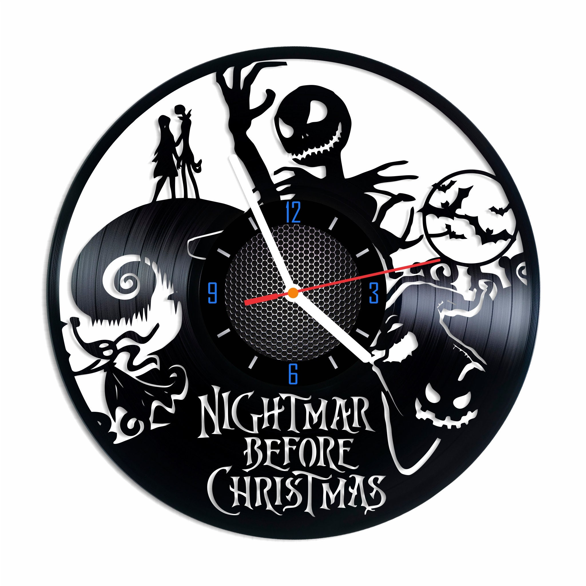 Nightmare before Christmas Jack Skellington Tim Burton Vinyl | Etsy