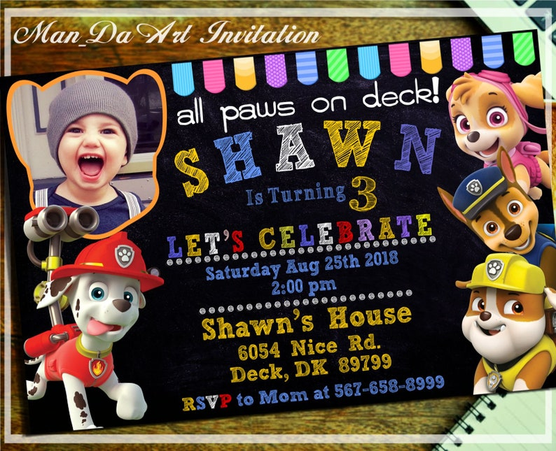 picture relating to Printable Paw Patrol Invitations called Paw Patrol Invitation.Paw Patrol Printable.Paw Patrol Birthday.Paw Patrol Social gathering.Paw Patrol Picture Invitation .Paw Patrol Boy.Paw Patrol-102
