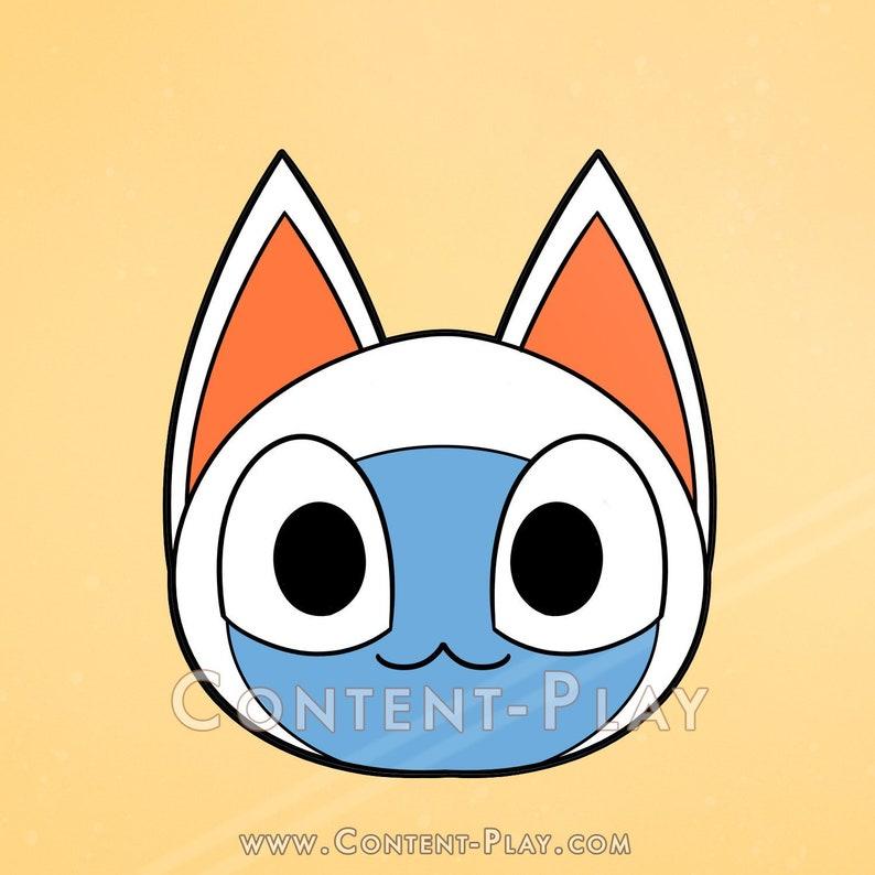 Cute Mitzi Animal Crossing Nintendo Black Hard Enamel Pin image 0