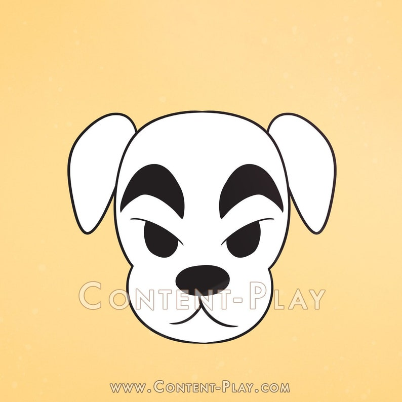 Cute K.K. Slider Animal Crossing Nintendo Black Hard Enamel image 0