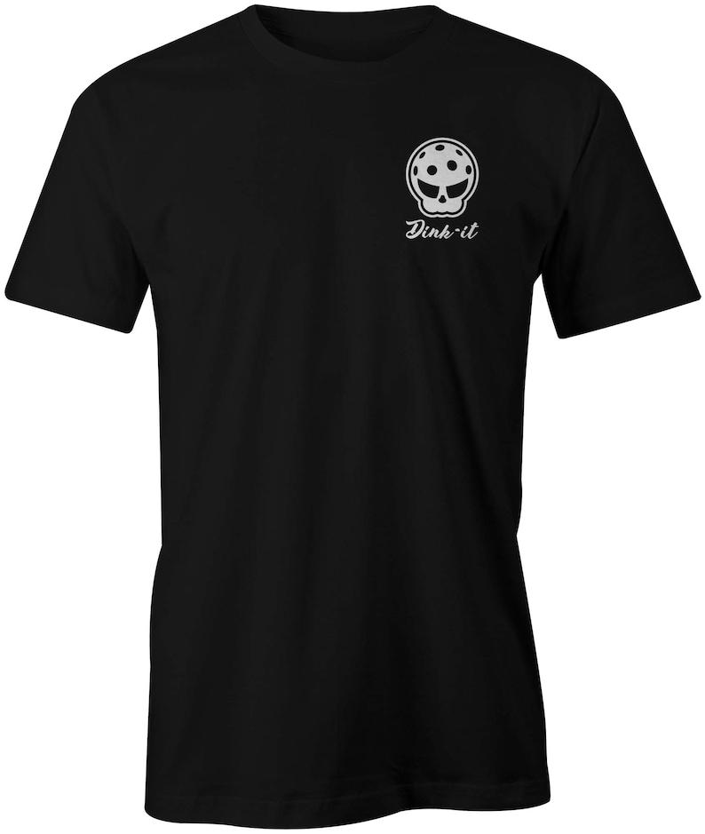 12a9df4a9 Men's Dink-it Skull Shirt   Etsy