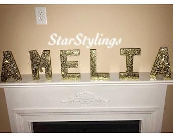Custom Standing Name Letters
