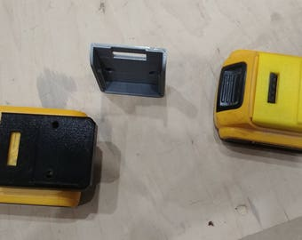 20v Dewalt battery dust and protective cover, wall mount compatible