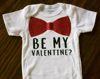 Valentine's Day Baby Onesie