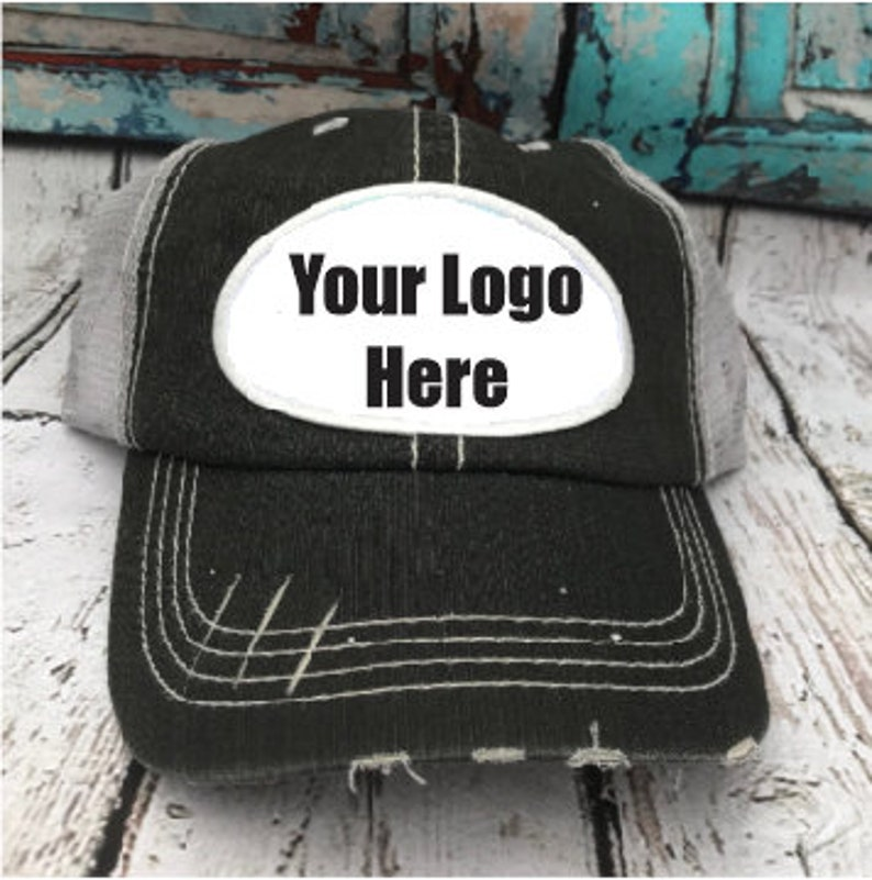 dad90f2de Logo Hat, Custom hats, Design your own hat, Logo Patch hat