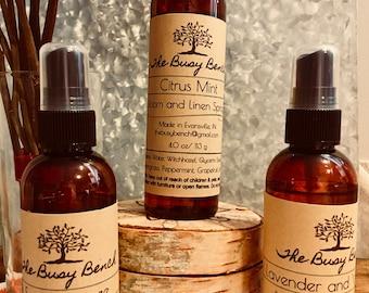 Room and Linen Spray - Essential Oils