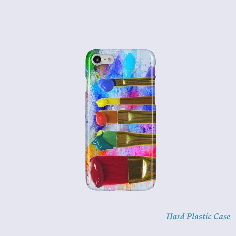 new product da5ba 8321a Artist Paint Brushes Phone case, Watercolor iPhone 7 Case, Watercolor  Palette iPhone 6 Case, Paint iPhone Plus Case, Paint iPhone SE Case