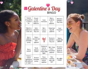 Galentine's Day Party Games Bingo Zoom Virtual Printable (8)