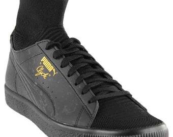 Puma Clyde Sock Solar FM Men Round Toe Synthetic Black Sneakers a755aca9b6