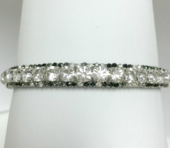 Tuxedo Black & White Dancing Diamonds~ Crystal Bling Rhinestone Cat Safety Collar USA