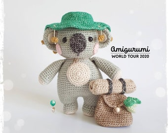 Amigurumi Koala Bear - A Free Crochet Pattern - Grace and Yarn | 270x340
