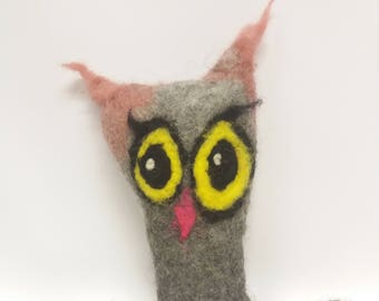 Owl made of Felt