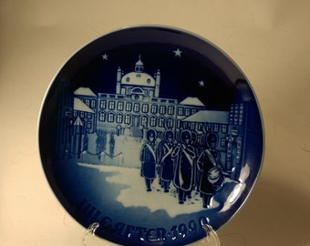 1990 Bing and Grondahl Christmas plate Changing of the Guards