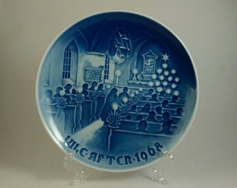 1968 Bing and Grondahl Christmas plate