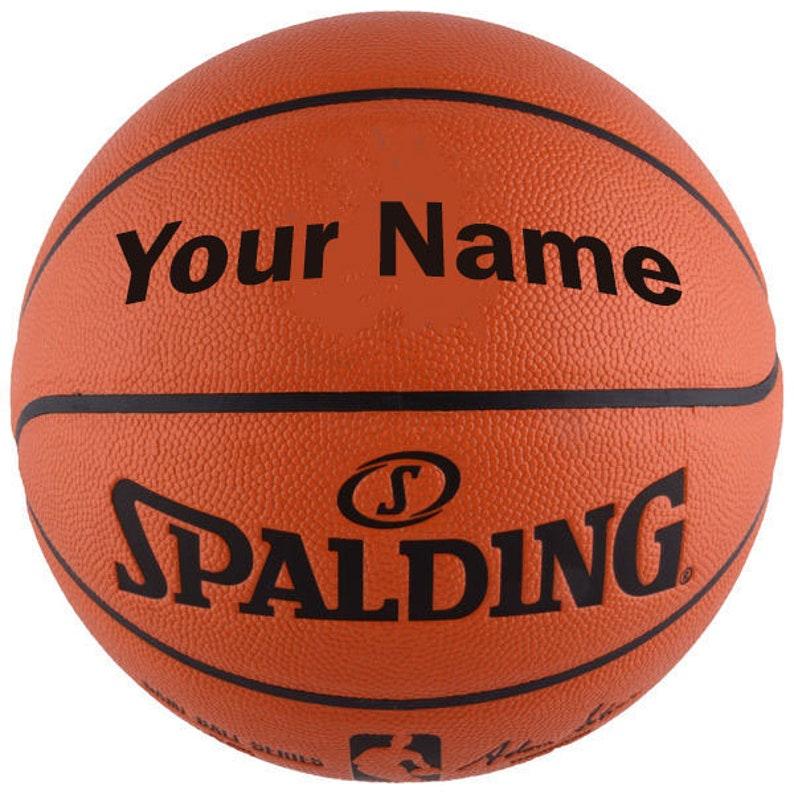 20d980241ba Customized Personalized Spalding NBA Replica Indoor Outdoor