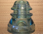 Whitall Tatum Green Insulator No 1 Made in USA