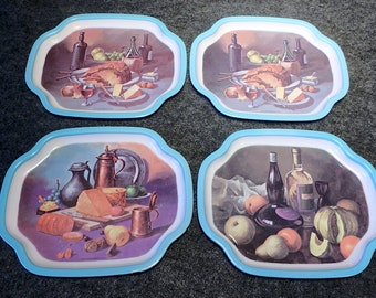 Wine and Cheese Trays ~ Retro 1960's ~ Made in Japan