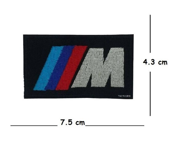 BMW M3 Series Car Racing Iron on Sew on Embroidered Patch applique