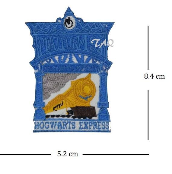 Harry Potter Platform 9 3//4 Iron On Patch White