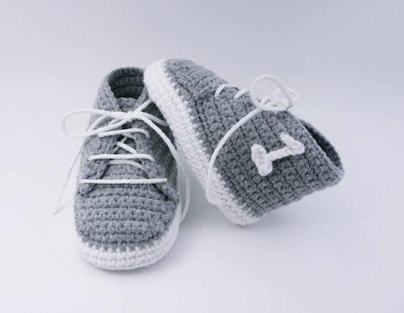 Chaussons bébé en crochet chaussons espadrilles bébé chaussons enfant, nouveau-né chaussures, nouveau bébé, chaussures bébé, bébé garçon, chaussures pour bébé,