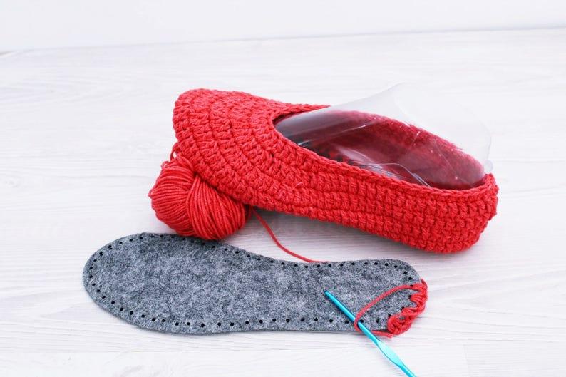 Suole Per Pantofole Suole Per Scarpe Crochet Pantofola Che Etsy