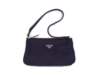 c76959a62f90 Authentic Prada nylon hobo bag