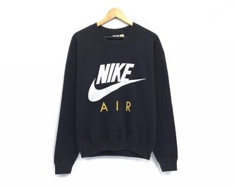 dfa1fb189 Vintage Nike Air Crewneck Sweatshirt Jumper Big Logo Spell Out Pullover /  Sports Fashion / Streetwear / Hip Hop / Fashion Style / Hypebeast
