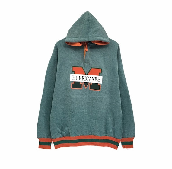 Colosseum University of Miami Hurricanes Womens Full Zip Hoodie Sweatshirt XX-Large