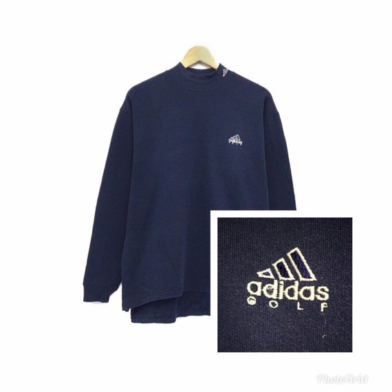 adidas polo neck jumper