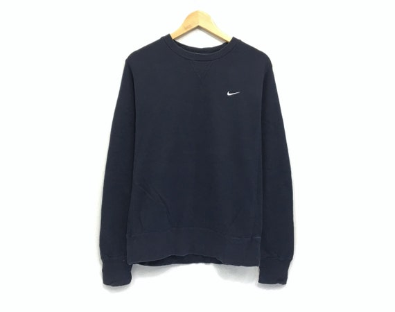 nike crew neck jumper grey