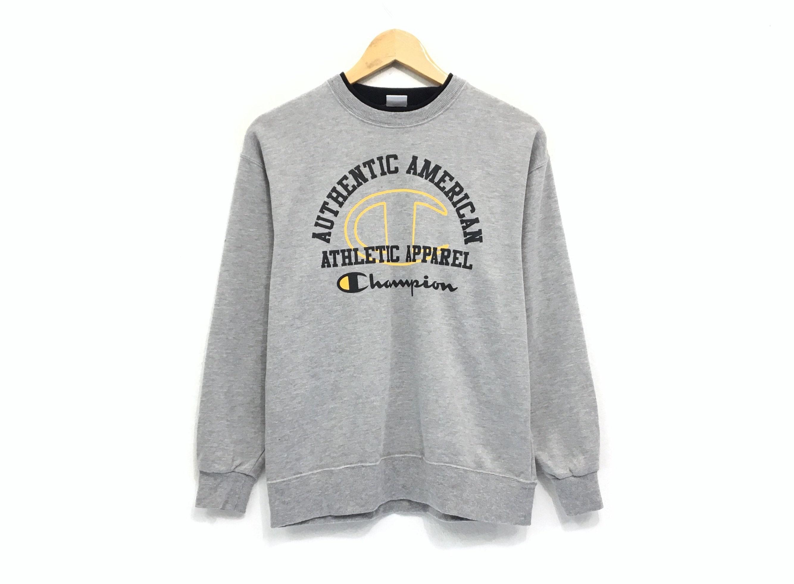 7526ceff5b8e Champion Crewneck Sweatshirt Jumper Big Logo Spell Out
