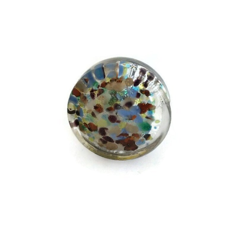 Flat Glass Mixed Color Knob