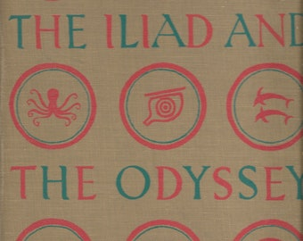 The Iliad and the Odyssey illustrated by the Provensens, 1956